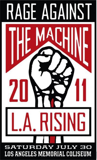 LA Rising poster